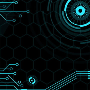 tất cả những nền công nghệ xanh lục giác mạch , Lục Giác, Vòng Tròn., Điện Tử Ảnh nền