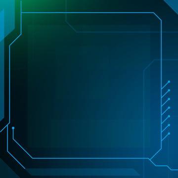 पूर्ण प्रौद्योगिकी लाइन वर्ग हरे रंग की पृष्ठभूमि , विज्ञान और प्रौद्योगिकी, लाइन, डिब्बा पृष्ठभूमि छवि