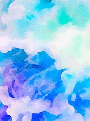 Tất cả nền màu tím và màu nước cảm nhận Tuyên Truyền Máy Hình Nền