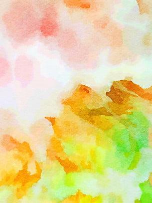 Tất cả những cảm nhận màu nước xanh phấn nền vàng Tuyên Truyền Máy Hình Nền