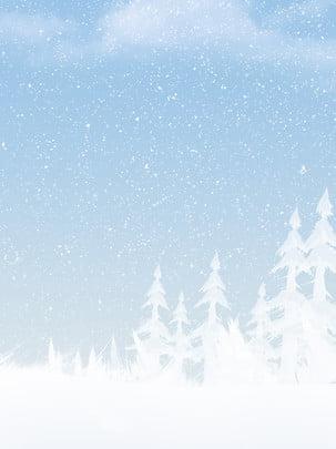 Full mùa đông vẽ tay tuyết nền minh họa Vẽ Tay Tuyết Hình Nền