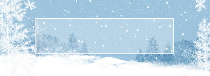 latar belakang spanduk snow salji musim sejuk penuh, Musim Sejuk, Adegan Salji, Tangan Ditarik imej latar belakang