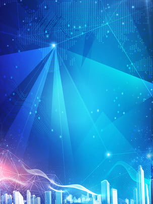 Glare technology city smart background , Glare, City, Building Background image