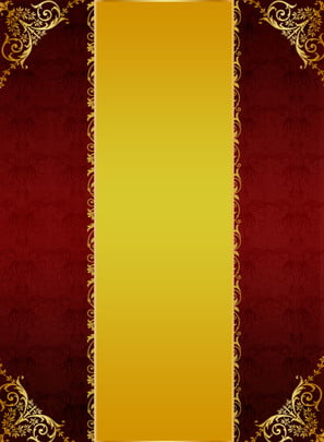 gold red yellow european texture background , Gold Red Yellow European, European Texture, Background Material Background image