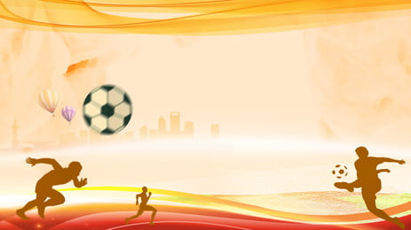 Đám đông chạy quảng cáo nền màu vàng, Chạy Trốn, Quảng Cáo Nền, Bằng Tay Ảnh nền