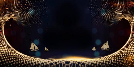 Hạt vàng vật liệu nền năm mới Vàng Hạt Nền Hình Nền