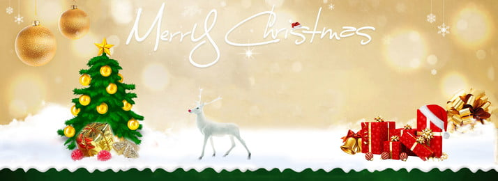 Золотой красный маленький лось подарочная коробка елки снежинка новогодний фон Золотая апертура лось Фоновое изображение