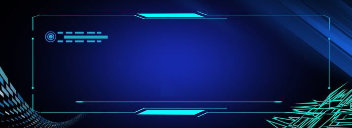 Gradient Blue Technology Dynamic Background, Gradient, Blue, Square, Background image