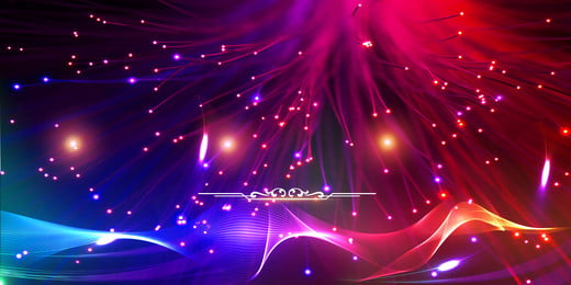 gradient color atmosphere award ceremony background material, Award, Display Board Background, Red Background image