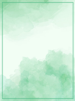 Green Gradient Watercolor Ink Effect Poster Background, Green Background, Gradient Background, Poster Background, Background image