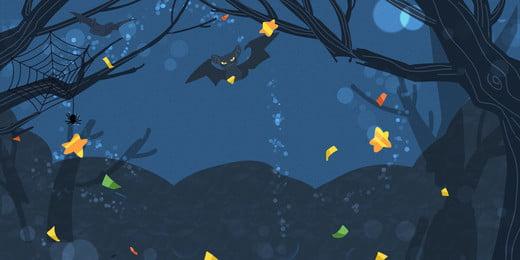 halloween minimalistic background design, Holiday Background, Halloween, Dead Wood Background image