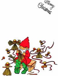 Hand drawn santa claus background , Christmas, Santa Claus;, Hand Painted; Background image