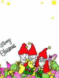 vẽ tay santa claus nền , Giáng Sinh, ông Già Noel;, Đỏ Ảnh nền