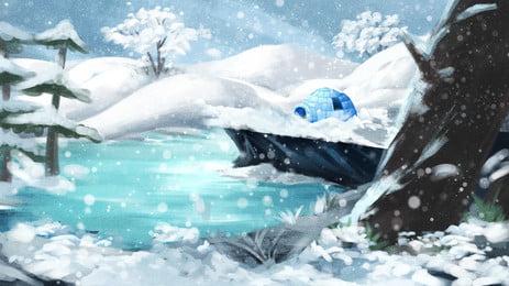 手描きの中国の伝統的な冬冬祭りの背景素材 手描き 中国の伝統 冬の季節 24ソーラーターム ? バックグラウンド 立立背景 背景素材 広告背景素材 手描き 中国の伝統 冬の季節 背景画像