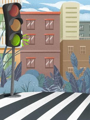 Vẽ tay hướng dẫn giao thông văn minh cảnh sát Vẽ Tay Giao Hình Nền