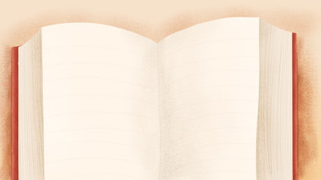 Hand-painted Open Books Will Pass The Background Material, Hand Painted, Open Book, Books, Background image