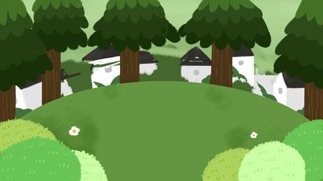楽しい国際子供の日の森林の背景の設計 Pspd背景 こどもの日の背景 アニメーションの背景 背景画像