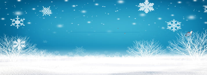 Ice And Snow A Line Of Life Banner Background Tree,blue Sky,snow,winter, Ice And Snow A Line Of Life Banner Background, Tree, Blue, Background image