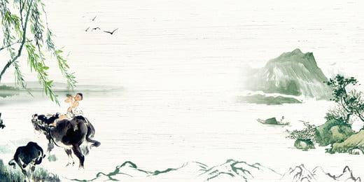 잉크 중국 스타일 칭 명나라 축제 배경 일러스트 레이션, 잉크, 고전적, 중국 스타일 배경 배경 이미지