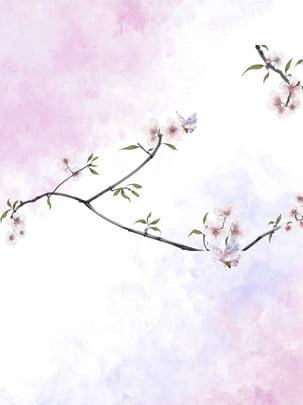 स्याही बेर गुलाबी तितली लाल , स्याही, बेर फूल, तितली पृष्ठभूमि छवि