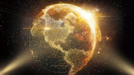 光スポット地球広告の背景, 絞り, 光線, 光の光 背景画像