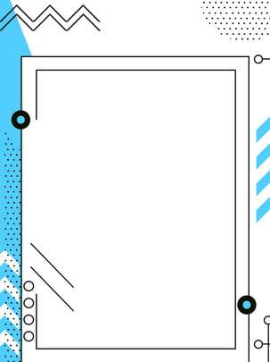 孟菲斯藍白不規則幾何背景 , 孟菲斯, 藍色, 白色 背景圖片