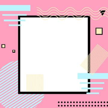 メンフィスファッションの幾何学的な広告の背景 , 広告の背景, 行, メンフィス 背景画像