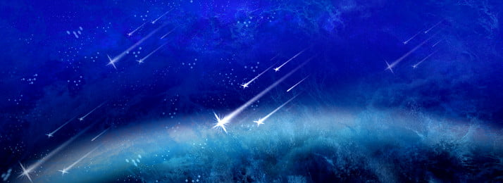 Meteor Across The Cool Night Sky Sky,moment,banner,blue Tone,earth Meteor, Meteor Across The Cool Night Sky, Sky, Moment, Background image
