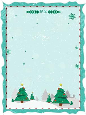 미니멀리즘 크리스마스 눈송이 배경 자료 , 단순한, 눈송이, 크리스마스 트리 배경 이미지