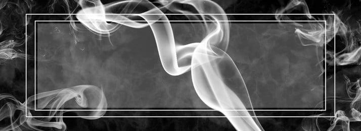 簡約白色煙霧漸變背景, 白色, 邊框, 簡約 背景圖片