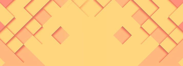 Минималистичный желтый геометрический баннер фон шаблона геометрия Баннер фон Фоновое изображение