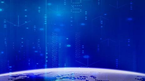 Nowoczesny niebieski wzór tła Niebieski Technologia Kreatywne Nowoczesny Kolor tła Zaproszone tło Materiał Tła Zaproszone Nowoczesny Obraz Tła