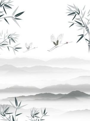 山竹の背景 山脈 山 竹 背景画像
