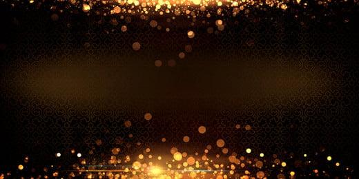 Vàng đen bí ẩn năm mới vật liệu nền Hội nghị thường Thường Vàng đen Hình Nền