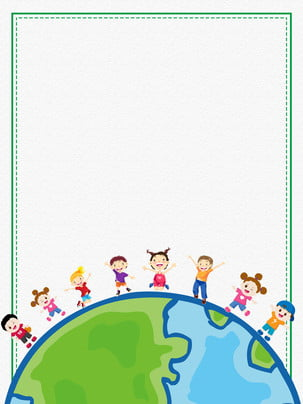 design de fundo do dia internacional das crianças pintadas , Pintado, Feliz, Slide Imagem de fundo