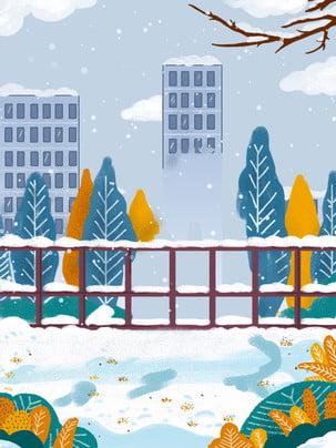 Lễ hội tuyết vẽ vật liệu nền Đẹp Mùa đông Hình Nền