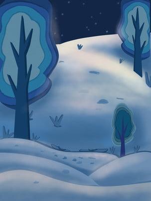 Lễ hội tuyết vẽ vật liệu nền Tuyết Đẹp Mùa Hình Nền