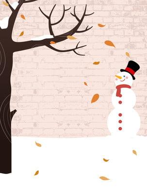 Sơn nền lễ hội tuyết người Người Tuyết Tuyết Hình Nền