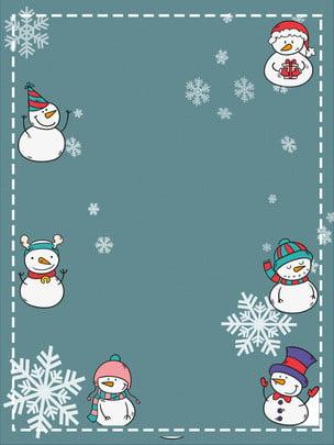 vẽ snowman snowflakes giáng sinh thiết kế nền , Người Tuyết, Bông Tuyết, Biên Giới Ảnh nền