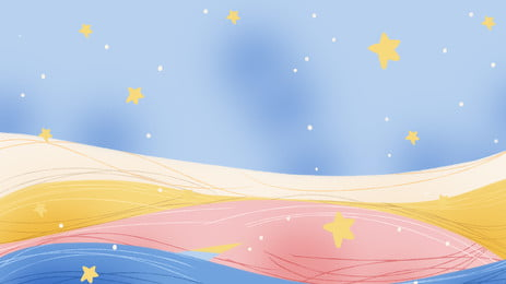 Painted Starry Sky Background Material, Constellation Background, Starry Material, Painted, Background image