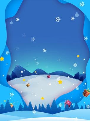 Thỏ Gió tuyết nền xanh  Giáng sinh vui vẻ Hoạt động Giáng Hình Nền