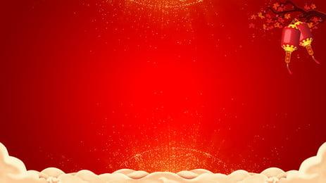 सुअर वर्ष लाल हाथ शुभ बादल पृष्ठभूमि चित्रण खींचा, सुअर साल की पृष्ठभूमि, लाल पृष्ठभूमि, आनंदित पृष्ठभूमि छवि
