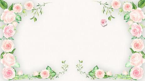 latar belakang pengiklanan bunga merah jambu, Latar Belakang Pengiklanan, Segar, Rose imej latar belakang
