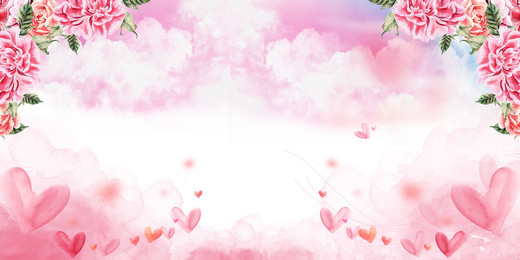 pink romantic rose background design, Pink, Romantic, Rose  Background Background image