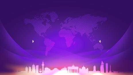 प्रीमियम बैंगनी नक्शा निर्माण विज्ञापन पृष्ठभूमि, विज्ञापन की पृष्ठभूमि, बैंगनी पृष्ठभूमि, पृथ्वी पृष्ठभूमि छवि