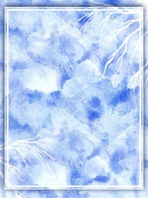 शुद्ध वातावरण नीला ढाल वाला पानी के रंग की सफेद शाखाएं सिल्हूट पृष्ठभूमि , सफेद शाखाएँ, सिल्हूट पृष्ठभूमि, नीला पानी का रंग पृष्ठभूमि छवि