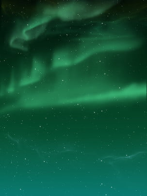 pure aurora starry background , Aurora, Starry Sky, Background Background image