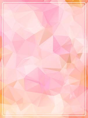 純唯美低多邊形邊框背景 , 漸變, 多邊形, 低多邊形 背景圖片
