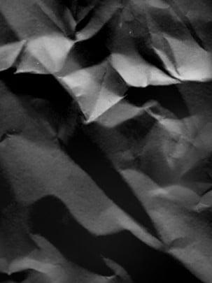 शुद्ध काले और सफेद pleated कागज पृष्ठभूमि , कागज़, काला और सफेद, सटा हुआ कागज पृष्ठभूमि छवि