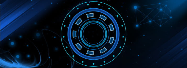 Pure Blue Cool Tech Black Background Intelligence,blue,technology,light,line Type,light,gradient,circle,background,intelligent, Pure Blue Cool Tech Black Background, Intelligence, Blue, Background image